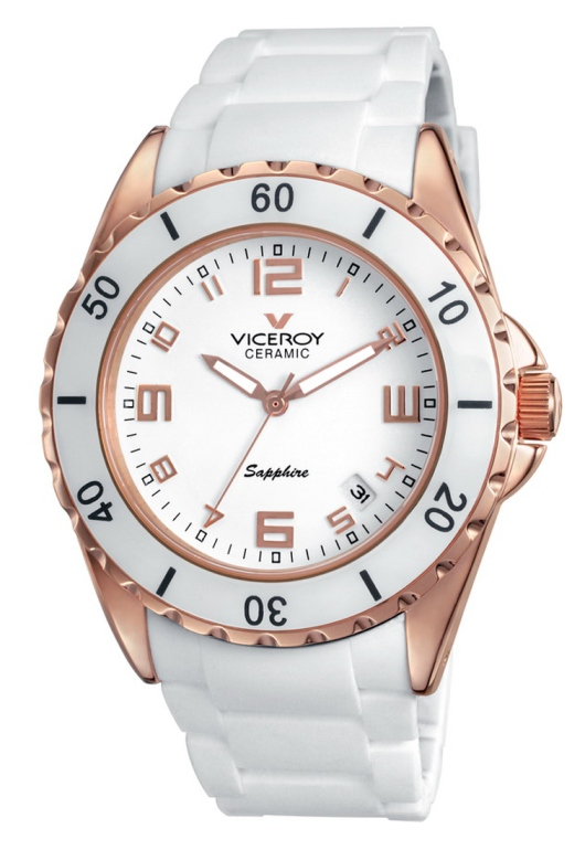 Viceroy Ladies Ceramic and Sapphire - 47564-95