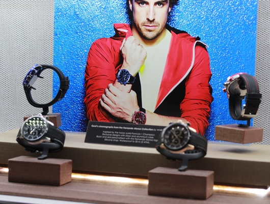 Viceroy Fernando Alonso Chronograph Display Baselworld 2014