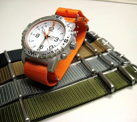 Assorted Nato Style Watch Straps