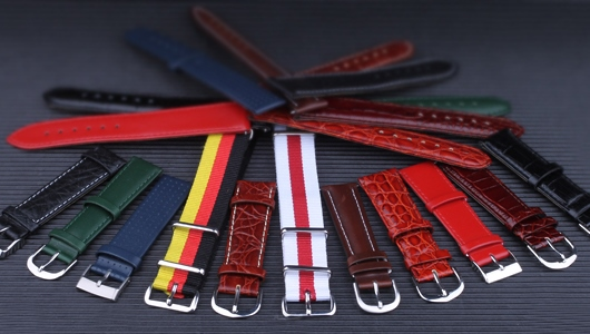 Leather and Textile Watch Straps