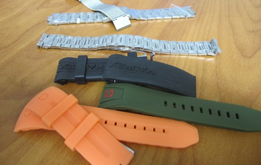 Metal Watch Bracelets and Rubber Watch Straps