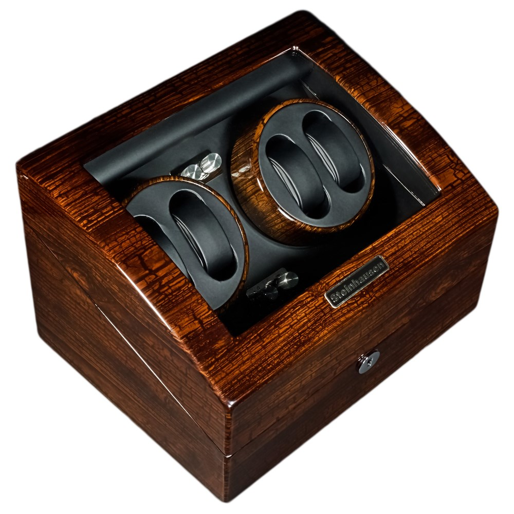 Shop steinhausen desktop watch winder with lifetime warranty.
