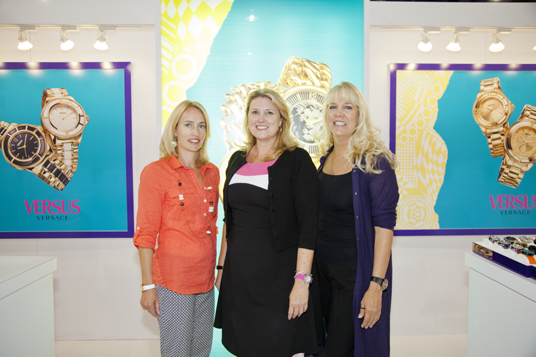 Kari Allen and Team at WWD Magic Las Vegas Fashion Trade Show